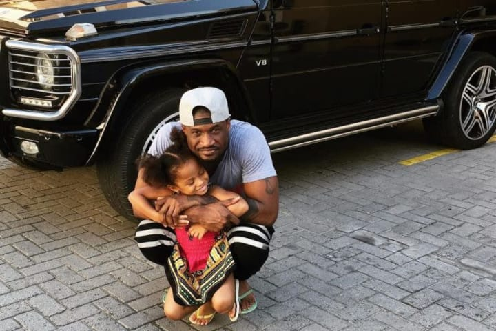 Peter Okoye marks daughter's birthday with sweet message