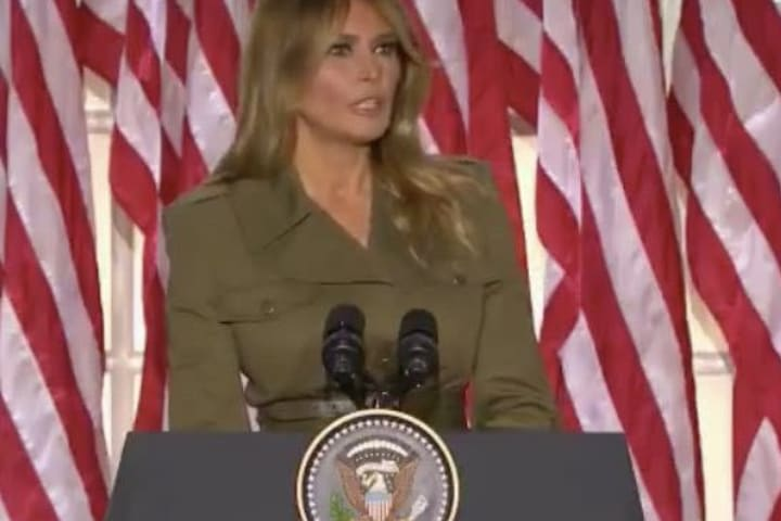 'Being your first lady was my greatest honour' – Melania Trump
