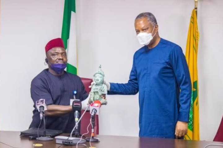 Nigeria receives stolen Ile-Ife artifact from Mexico