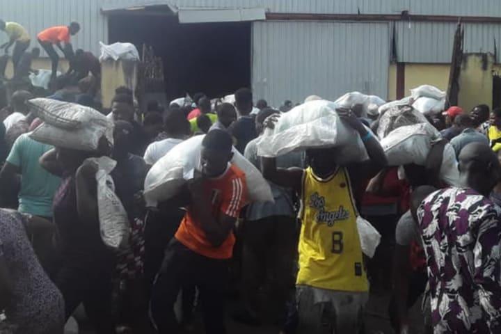 Lagos govt condemns COVID-19 palliative loot
