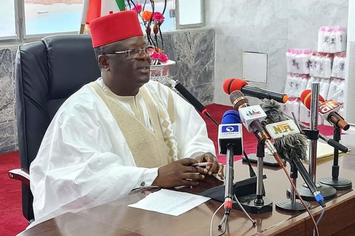 Umahi Proscribes ASUU, NASU In Ebonyi, Directs Immediate Commencement Of Lecture