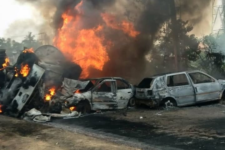 Another victim of Abeokuta tanker explosion dies in hospital