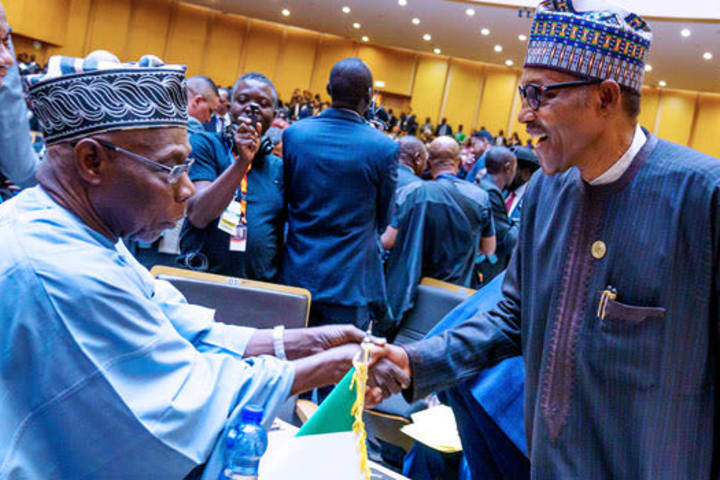 Show fatherly care to Nigerian youths now – Obasanjo tells Buhari