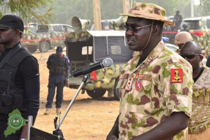 Buratai: Military achieving great success in war against Boko Haram