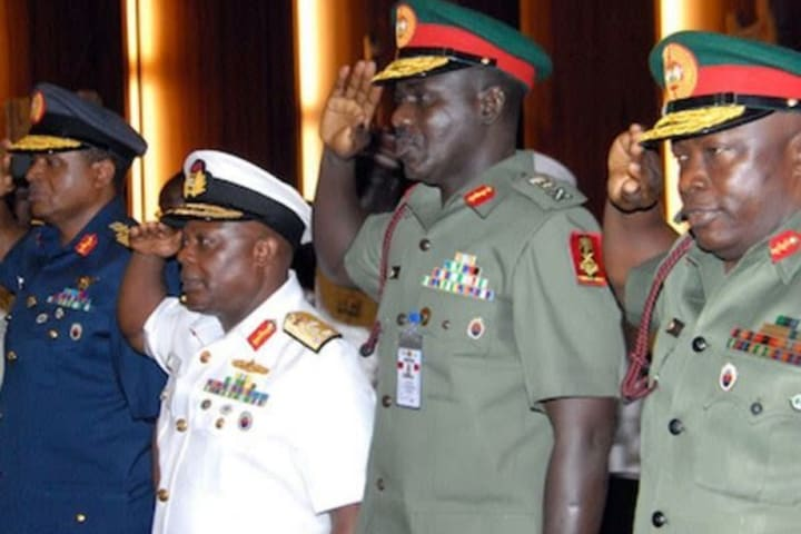 Buhari finally sacks service chiefs, Leo Irabor new CDS, Attahiru COAS