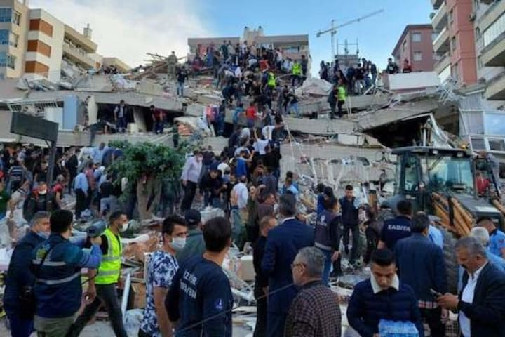 Update: 12 dead, 400 wounded in Turkey earthquake