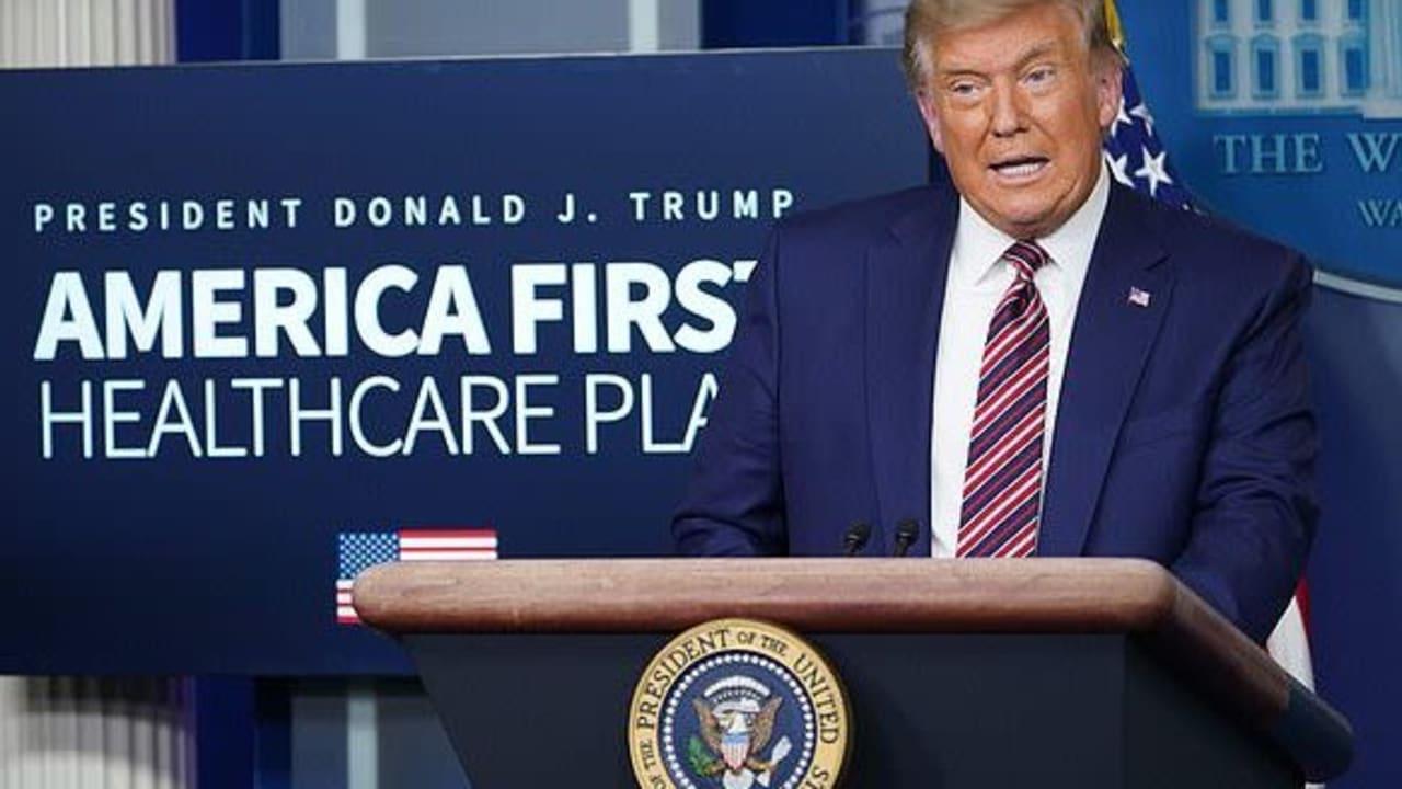 Trump blames Pfizer, media, big tech for election loss