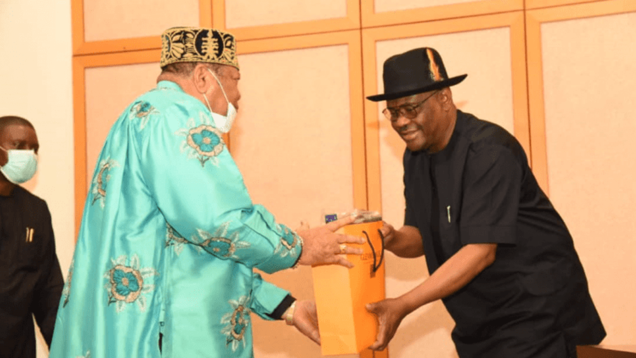 Gov. Wike vows to fulfill promises to Opobo Kingdom
