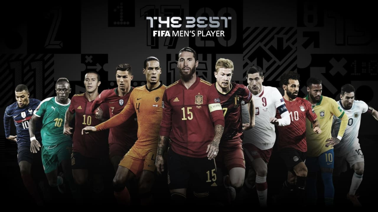 Ronaldo, Messi nominated again for 2020 best FIFA player