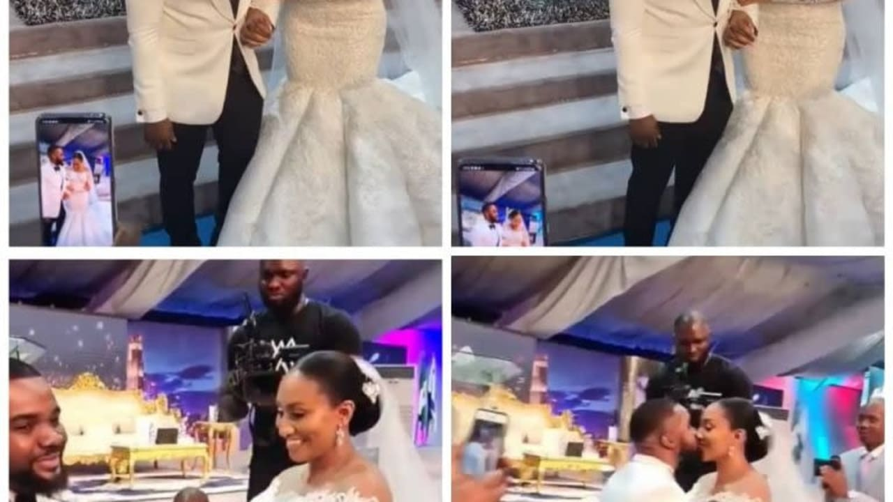 Photos from Williams Uchemba & Brunella Oscar's church wedding