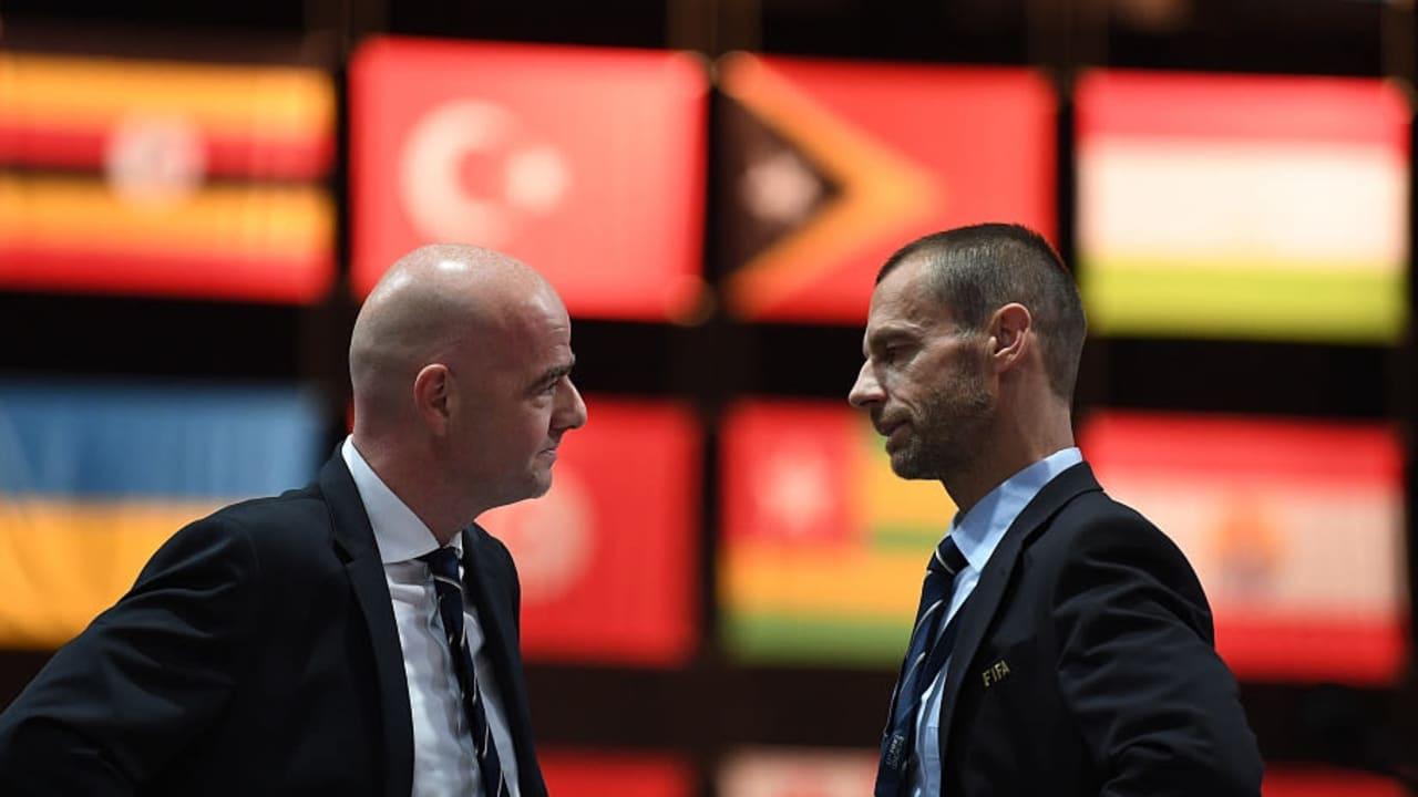 Review handball rule now, UEFA writes to FIFA