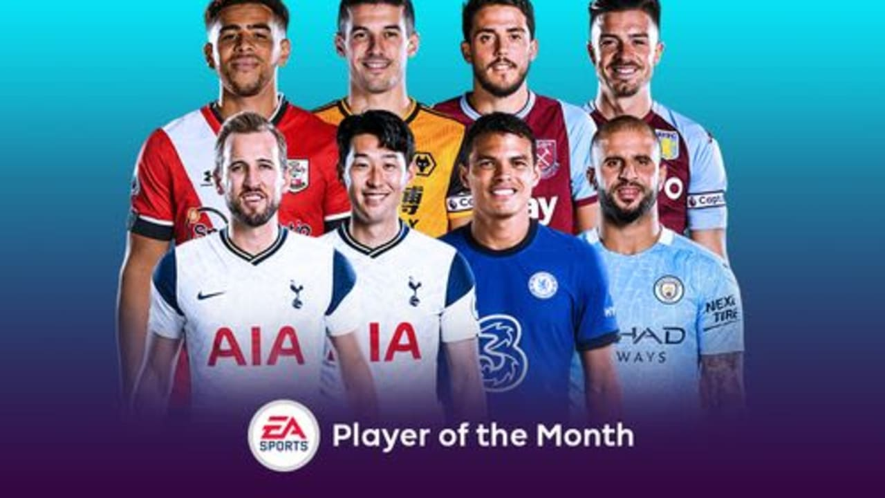 Premier League player of the month shortlist for October