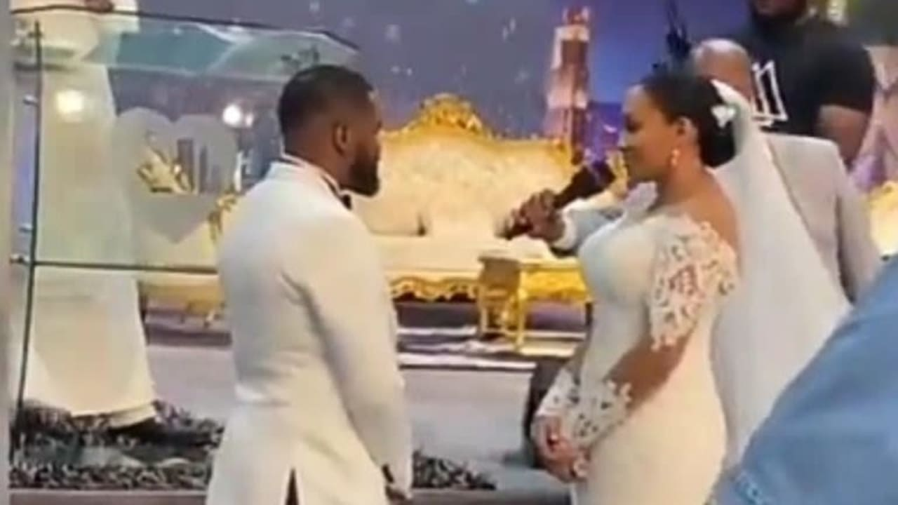 Watch Video From Williams Uchemba's Wedding