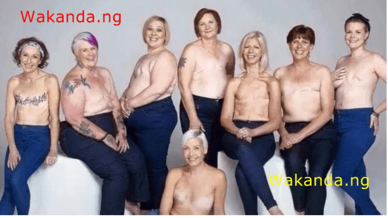 Men jubilate as women celebrate #NoBraDay