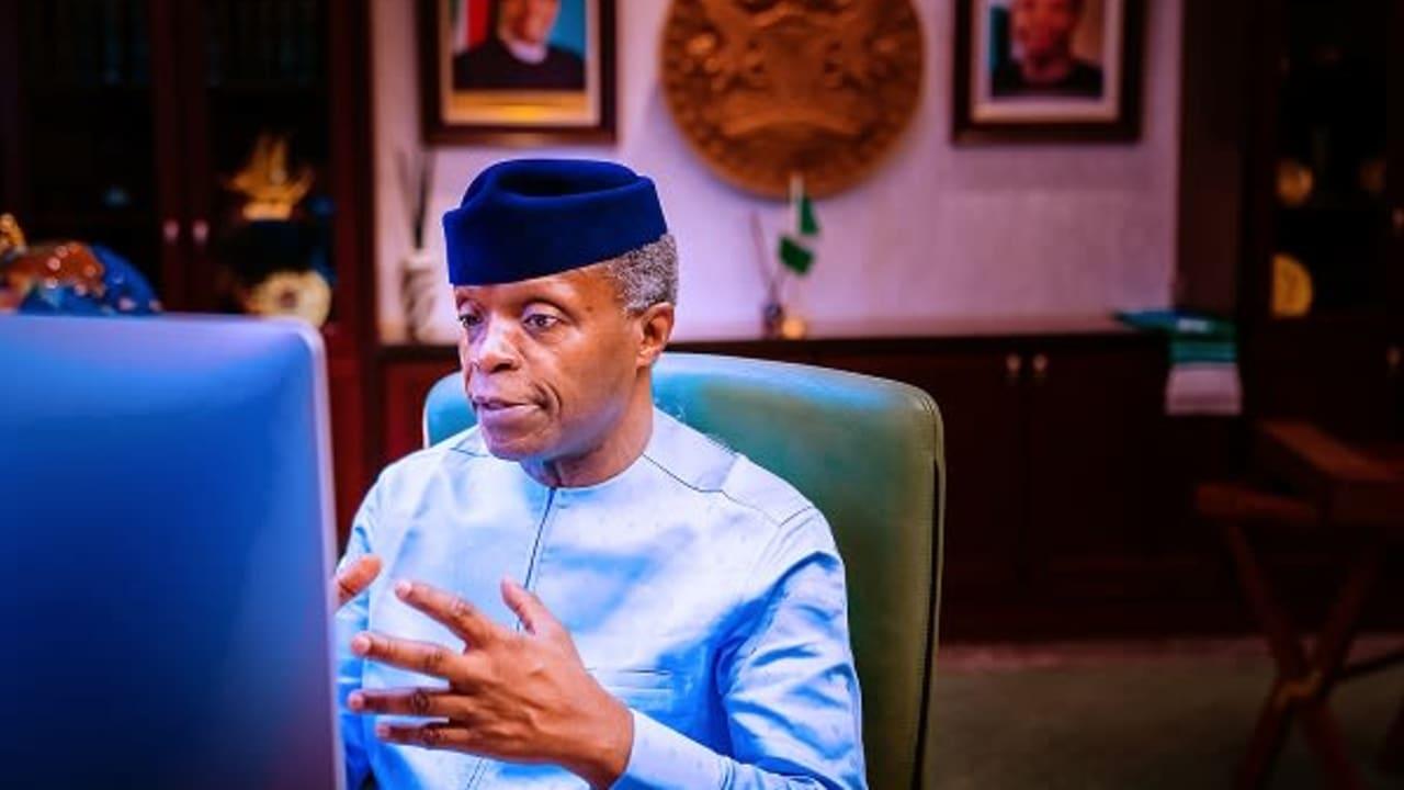 PHOTO NEWS: Osinbajo launches Clean Nigeria Campaign
