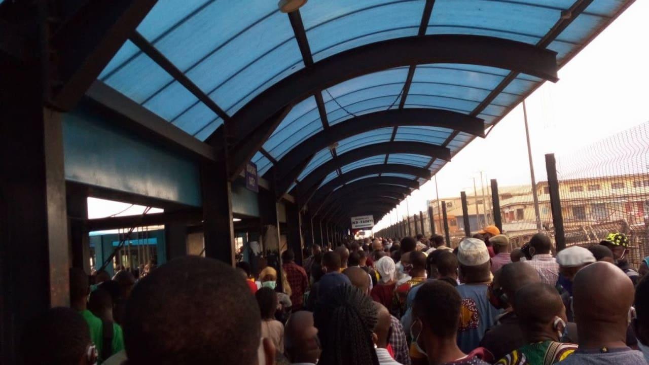 #ENDSARS: BRT operator announces suspension of operations