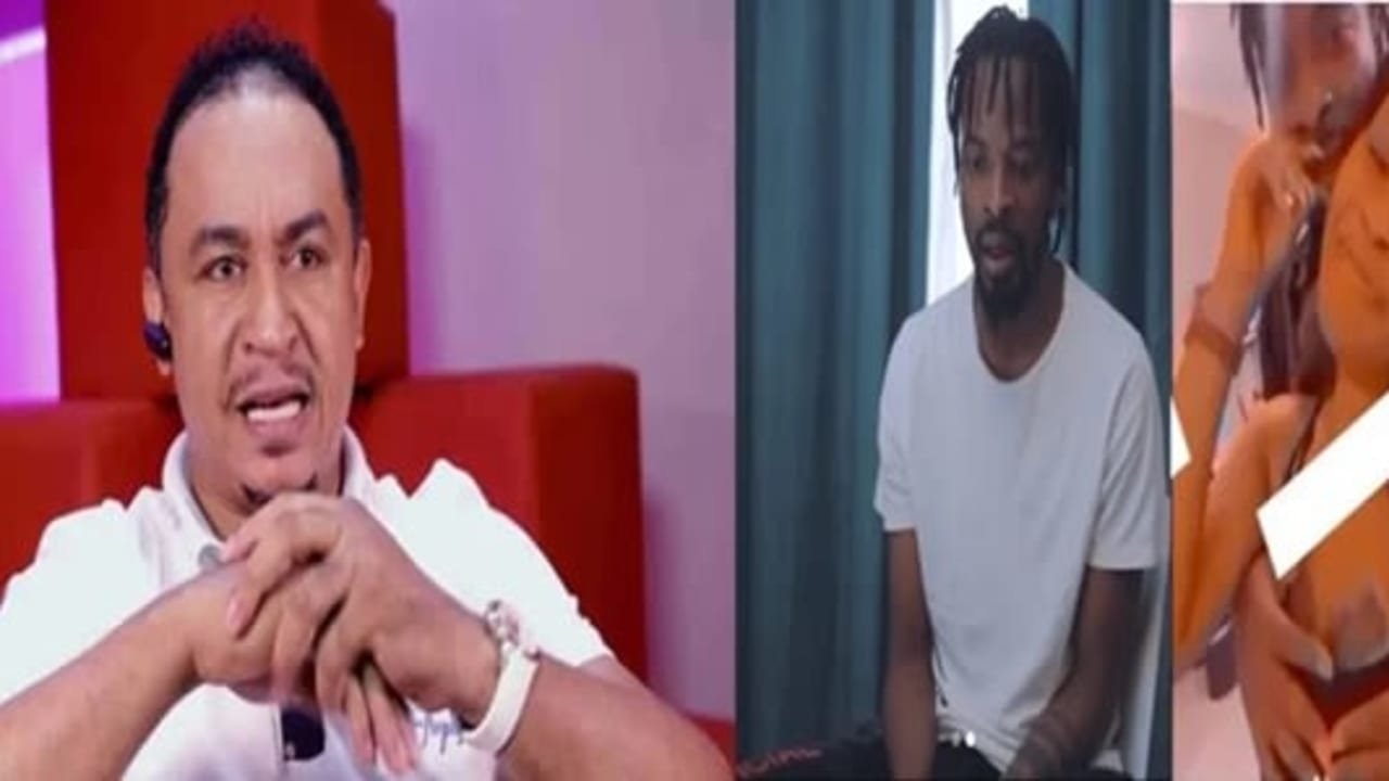 Daddy Freeze blasts 9ice for cheating on his wif