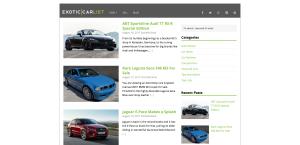 Exotic Car Blog