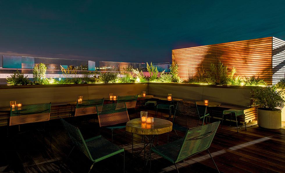L.P. Rooftop Bar Los Angeles