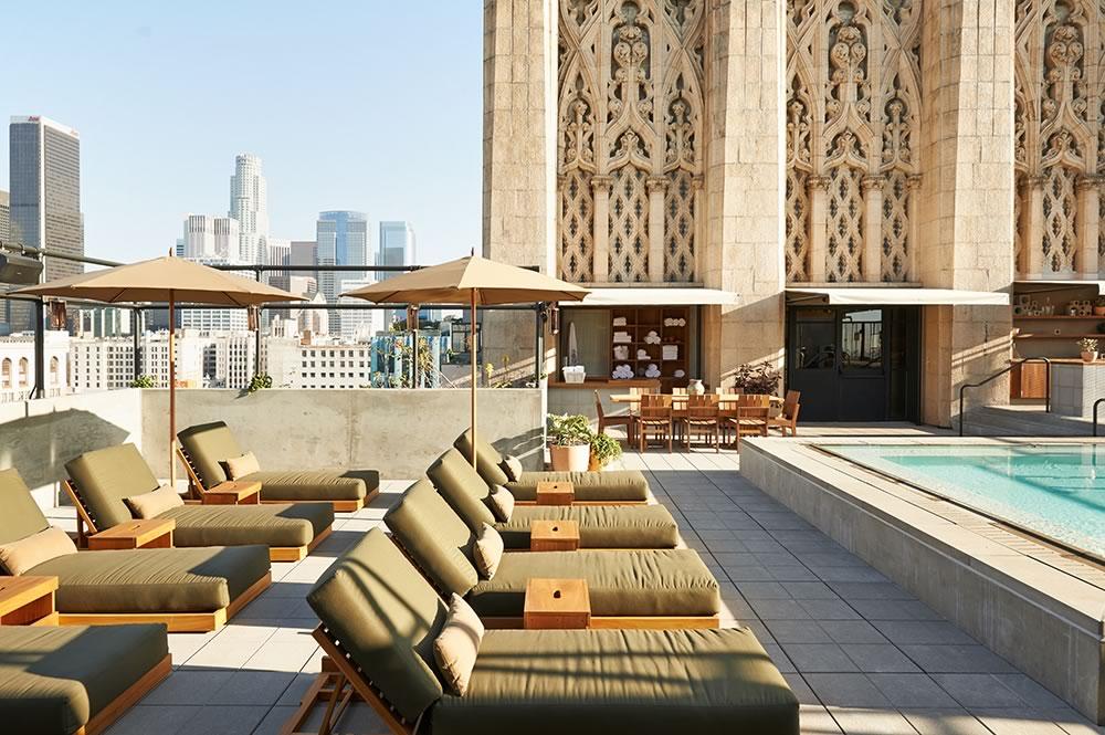 Upstairs Bar at the Ace Hotel LA Rooftop Bar
