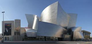 Walt Disney Concert Hall, LA, CA, jjron 22.03.2012 by jjron - Own work; stitched panorama from seven original images. Licensed under GFDL 1.2 via Commons