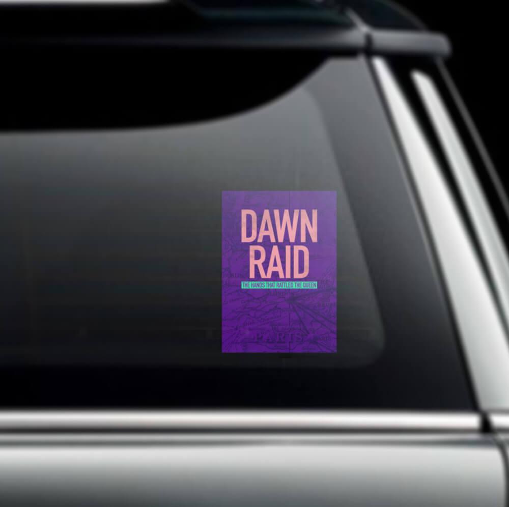 pitchin-dawn-raid-car-sticker