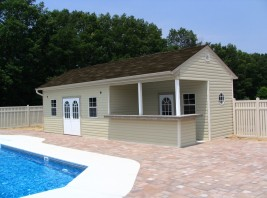 Gabriella Pool Shed