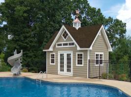 Madison Pool Shed
