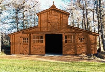 hi monitor horse barn
