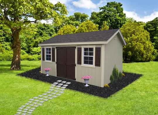 LP Cottage Shed