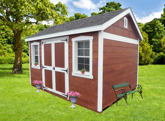 Stained Cottage Shed