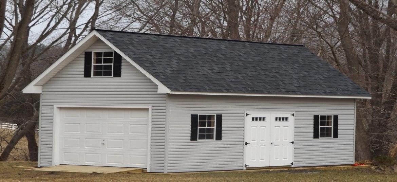 2 story heritage garage