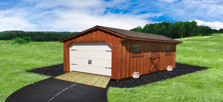 pine sheds