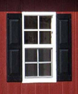 raised panel shutters
