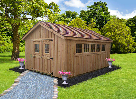 shed for potting