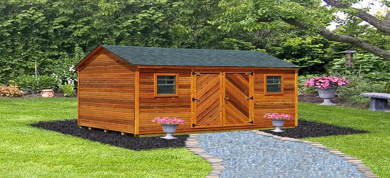 cedar sheds