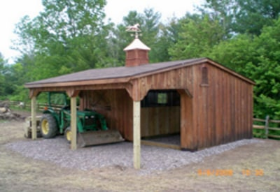 low profile horse barn