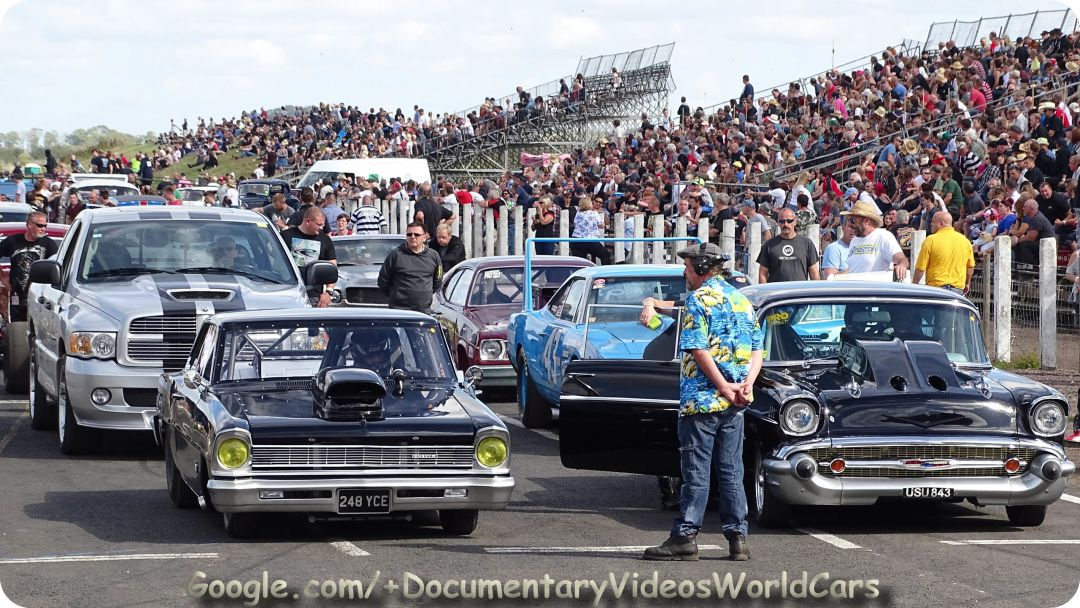 Hot Rod Drags - NSRA Shakespeare County Raceway 2016