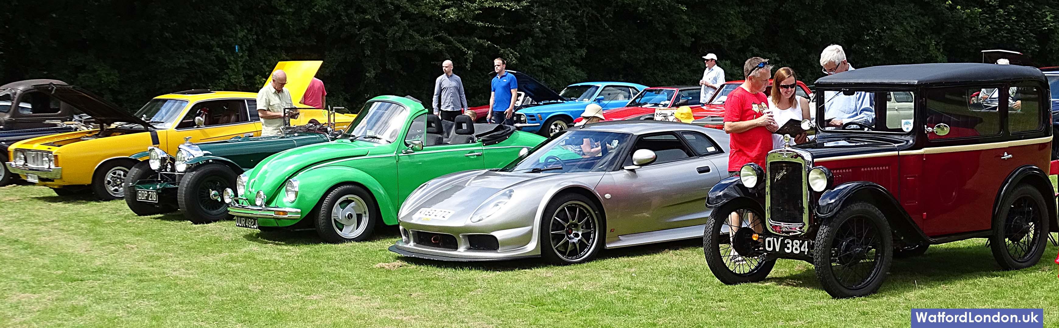 Chorleywood Classic & Ferrari Supercar Show Hertfordshire 2016