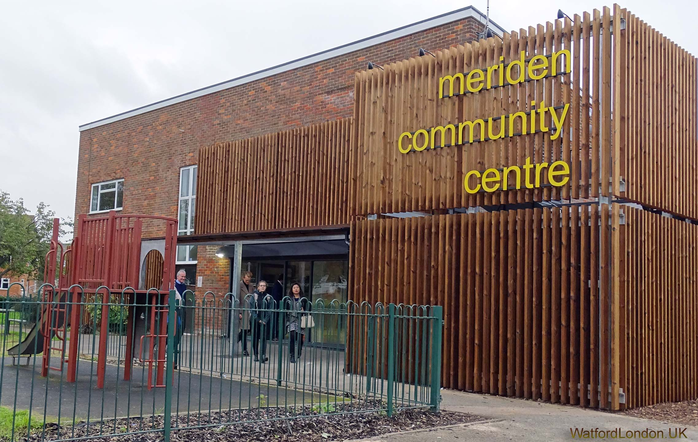 The Meriden Community Centre opens after receiving a major 'face-lift' 2016
