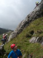 20-7-14. Everyone climbed at the Moelwyns, another great days climbing.