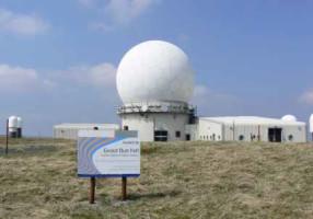 The Great Dun Fell radar