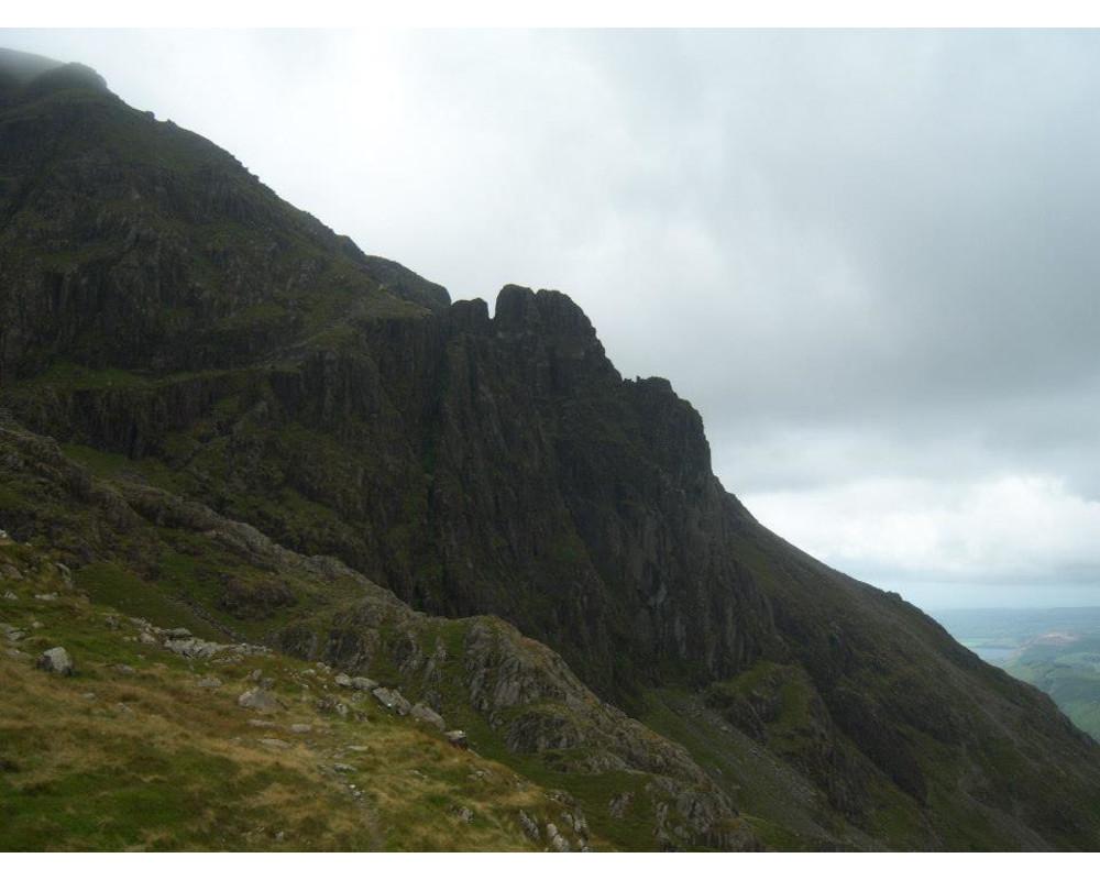Pillar Rock from Robinsons Cairn