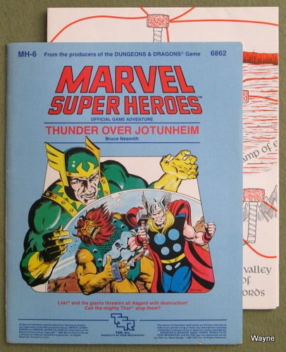 Thunder Over Jotunheim (Marvel Super Heroes module MH6), Bruce Nesmith