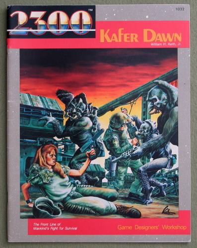 Kafer Dawn (2300AD role playing game), William H. Keith Jr.