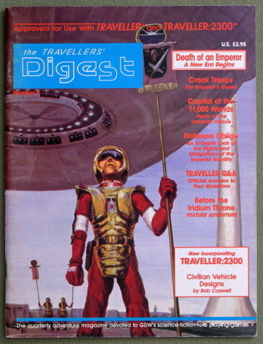 Travellers' Digest, Issue 9 (Traveller/Megatraveller)