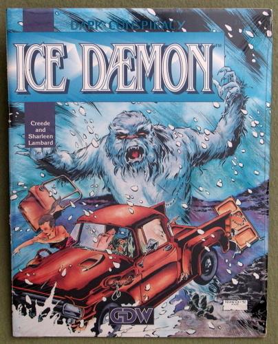 Ice Daemon (Dark Conspiracy RPG)
