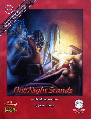 Dread Saecaroth (One Night Stands: ONS4) - Swords & Wizardry