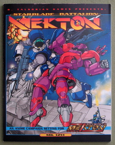 Starblade Battalion MEKTON: A Campaign Setting for Mekton Zeta