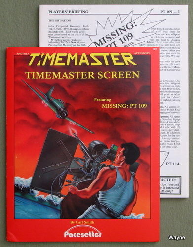 "Timemaster RPG Screen (Featuring ""Missing: PT 109""), Carl Smith"